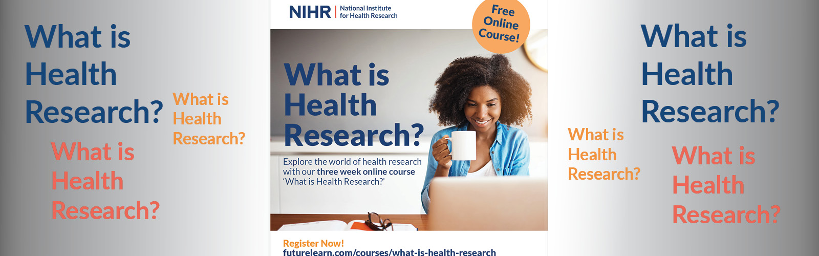 MOOC poster - what is health research?